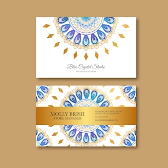 Mandala visitekaartje
