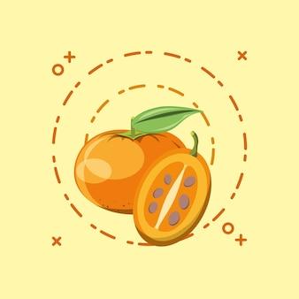 Mandarijn en boomtomaat
