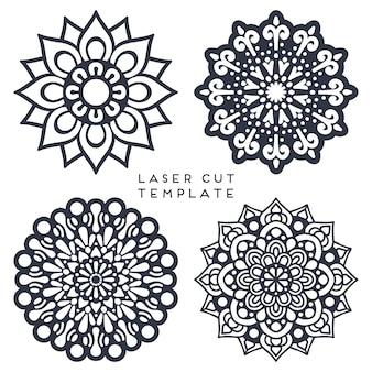 Mandla colletion voor laser cut