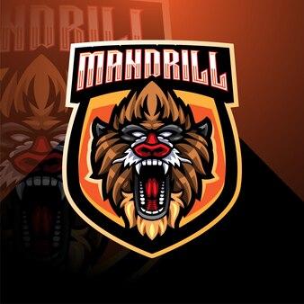 Mandril-mascotte