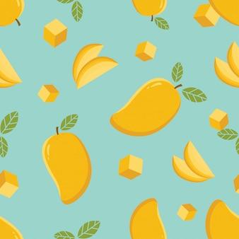 Mango naadloze patroon