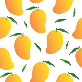 Mango patroon achtergrond