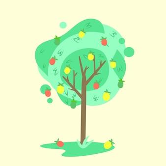 Mangoboom illustratie