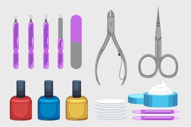 Manicure gereedschap set