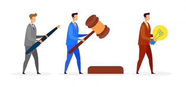 Mannelijke advocaat
