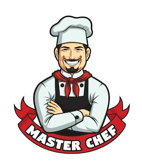 Mannelijke chef-kok