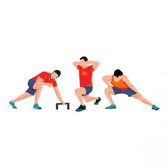 Mannelijke sportset