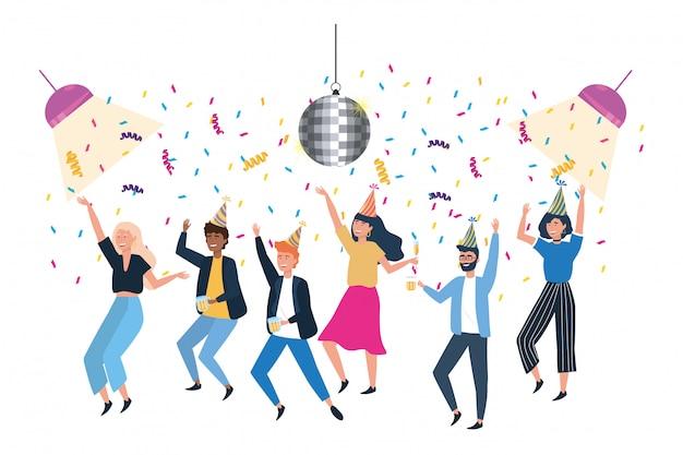 Mannen en vrouwen in de viering