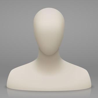 Mannequin buste en hoofd