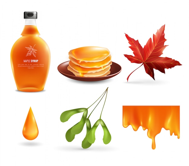 Maple siroop set