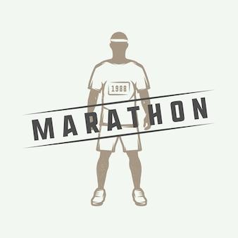 Marathon of run logo