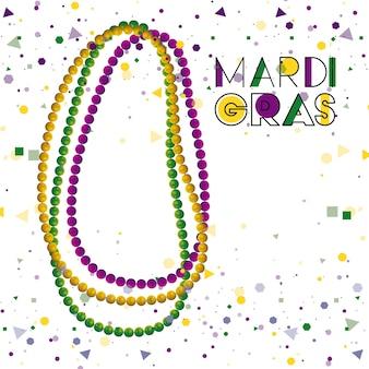 Mardi gras kleurrijke achtergrond