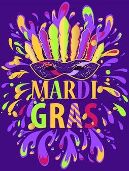 Mardi gras-poster