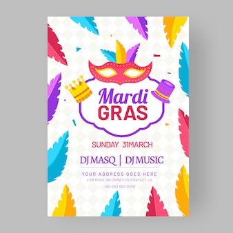 Mardi gras-viering.