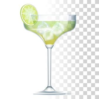 Margarita cocktail illustratie