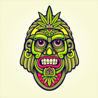 Marihuana hoofdmascotte