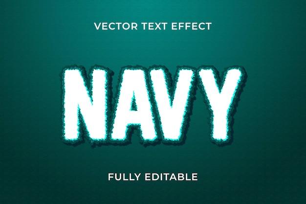 Marine tekst effect eps