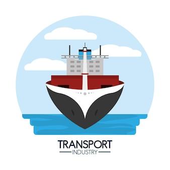Maritieme transport- en logistieke industrie