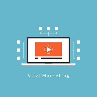 Marketing achtergrond ontwerp
