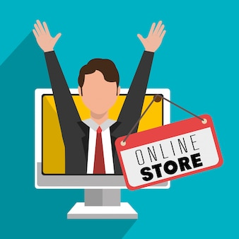 Marketing online en e-commerce verkoop