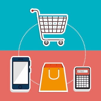 Marketing online en e-commerce verkoop