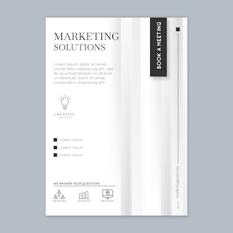 Marketing sjabloon folder