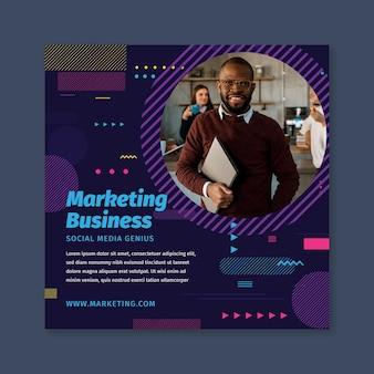 Marketing sjabloon folder