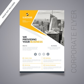 Marketing zakelijke flyer