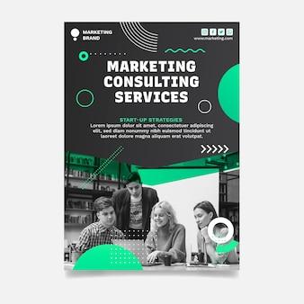 Marketing zakelijke poster
