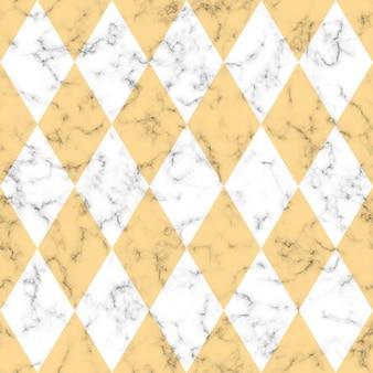 Marmer naadloos textuurontwerp met geometrische vormen