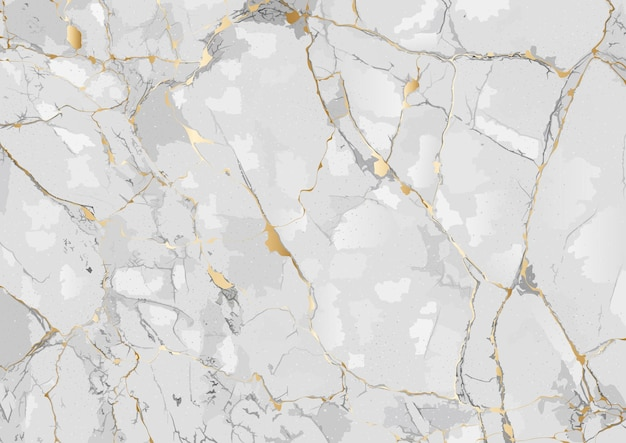 Marmeren achtergrond met gouden geaderde textuur