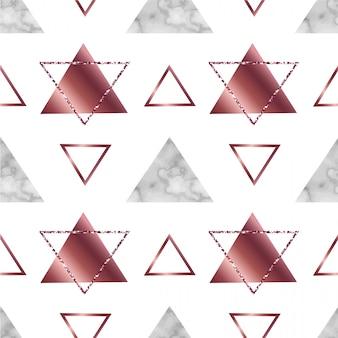 Marmeren geometrisch naadloos patroon