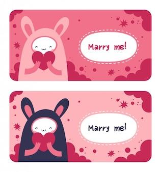 Marry me kaart