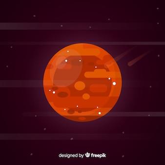 Mars achtergrond