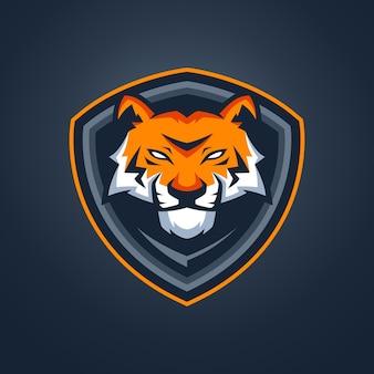 Mascotte van tiger esports