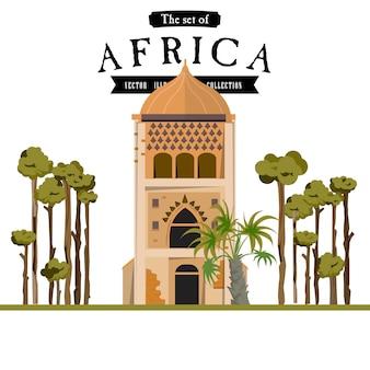 Masjid in afrikaanse stijl