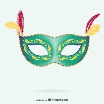 Masker voor carnaval