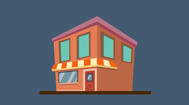 Massage salon illustratie voor animatie achtergrond