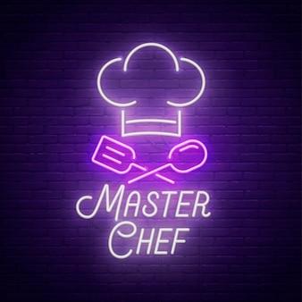 Master chef lichtreclame