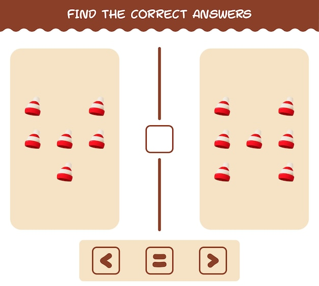 Match door telling van cartoon beanie. match en tel spel. educatief spel voor kinderen en peuters in de kleuterklas