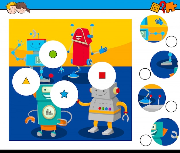 Match the pieces jigsaw puzzle game