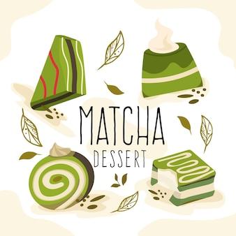 Matcha dessertcollectie