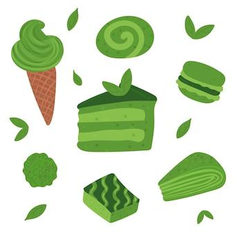 Matcha dessertpakket