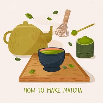 Matcha-gids maken