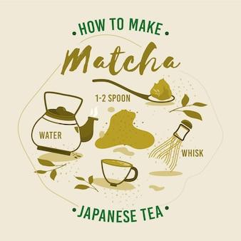 Matcha-thee maken