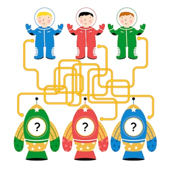 Maze, logic game for kids