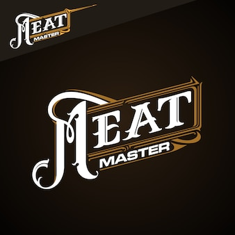 Meat master klassiek logo