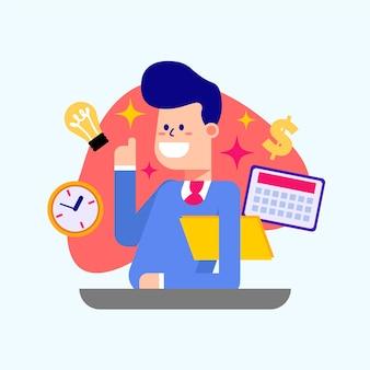 Medewerker van de maand time management