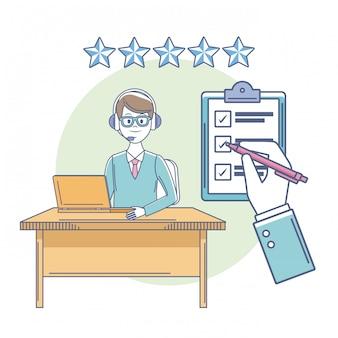 Medewerkers klantenservice-kwalificaties