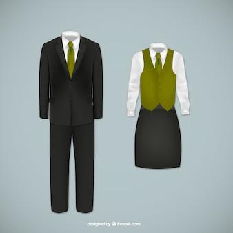 Medewerkers uniform vectoren
